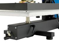 SM-54 swing heat press - detail - heat press machinery Australia