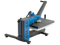 SM-54 swing heat press - rear, side view - heat press machinery Australia